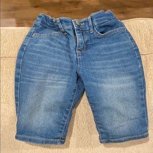 Girls denim shorts. Smoke free pet free home.